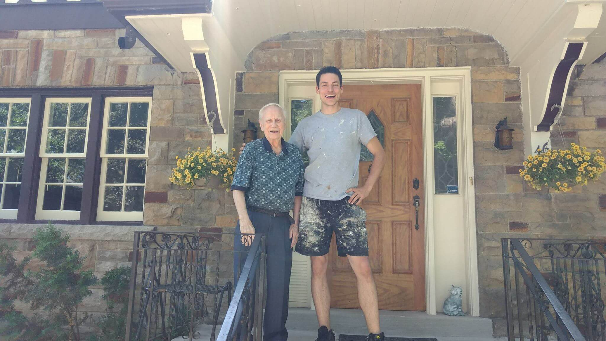 Michael with Home Painting & Exterior Painting Client